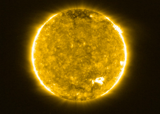 solar orbiters first view of the sun