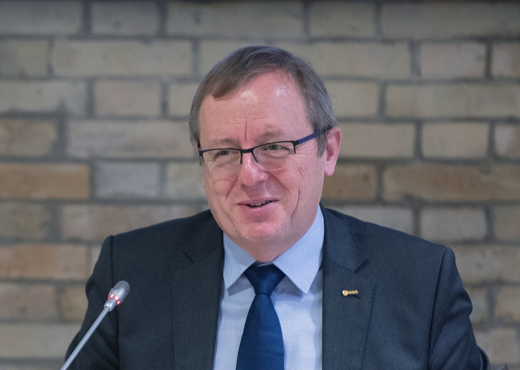 Jan Wörner, Director General ESA