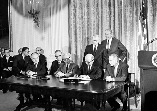 Signing of the Outer Space Treaty